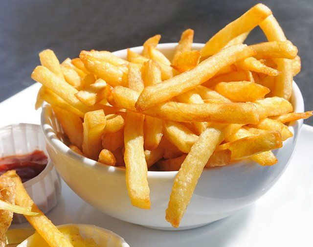 French Fries, Food Service Distribution